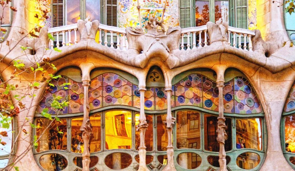 Casa Batlló, Antoni Gaudí, Barcelona, España