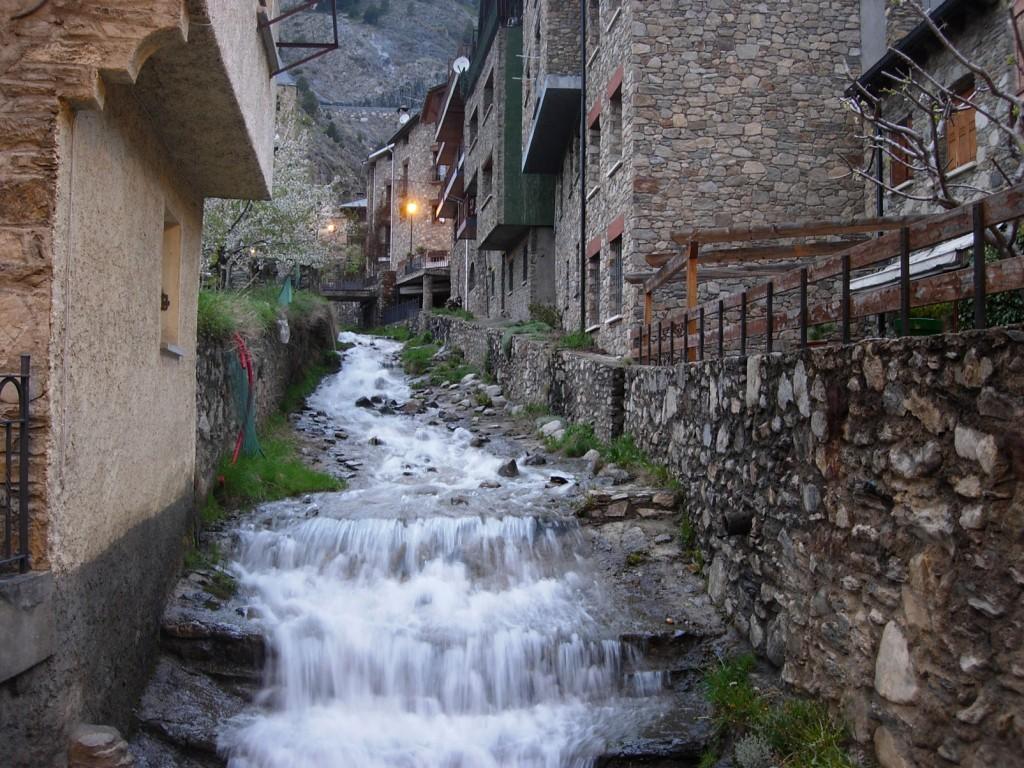 Canillo, pueblo de montaña en Andorra